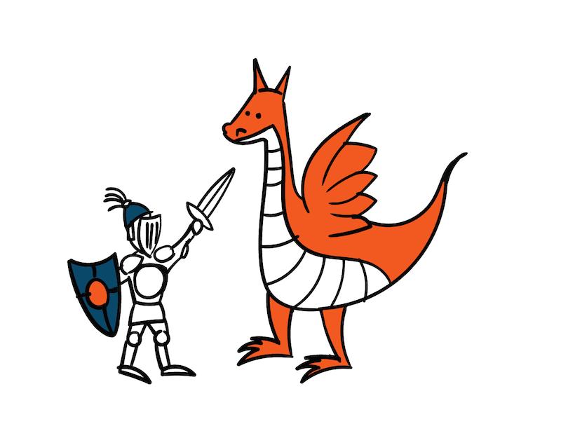Siegfried und der Drach